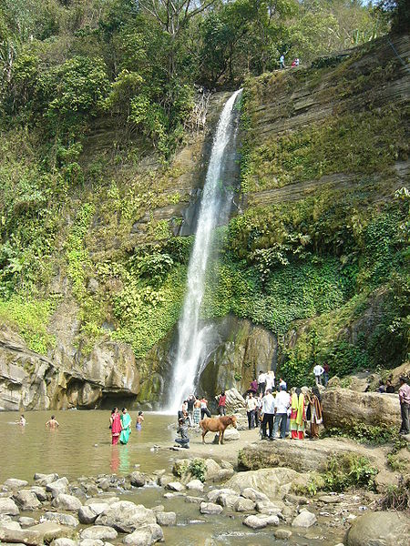 Madhobkundu Waterfall Sylhet Bangladesh